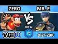 Shine 2016 Smash 4 - TSM | ZeRo (Diddy Kong) Vs. SS | Mr. E (Marth) SSB4 Top 32 WQ - Smash Wii U