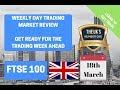 Day Trading Market Review FTSE 100 Week Ahead 18th March