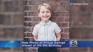 Windsor Palace Releases New Photo Of Prince George Ahead Of 5th Birthday