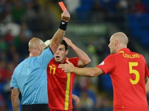 top 5 best red cards in football funny and worst foul red card in