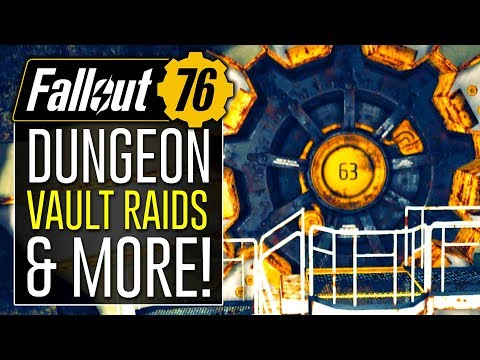 Fallout 76 News - Vault Raids, Backpacks, and TDM! (Data Mining Leaks)