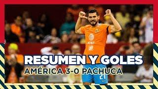 Club América 3-0 Pachuca   RESUMEN -Todos los Goles   CL2019   LigaMX   J3