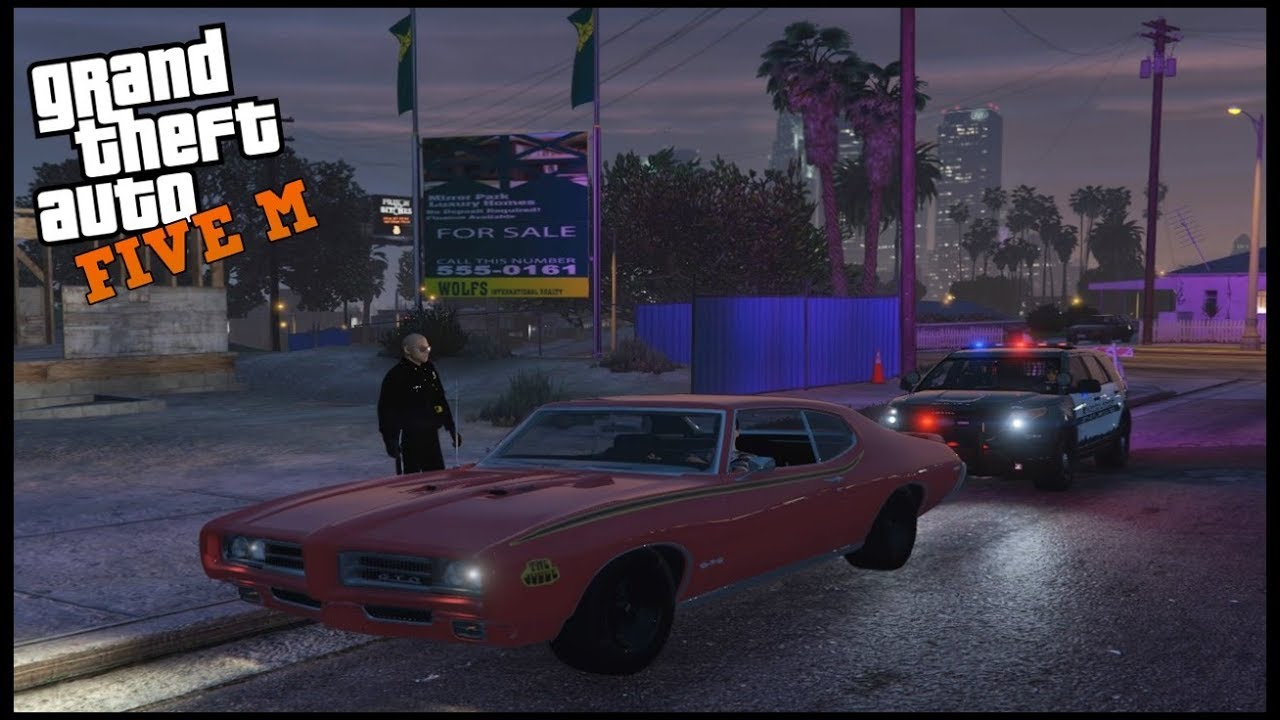 Watch GTA 5 ROLEPLAY - SIMON SAYS KICK THAT COP CAR! - EP  728 - CIV