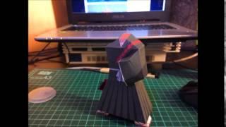 Ichigo Kurosaki Papercraft - Paper-replika.com