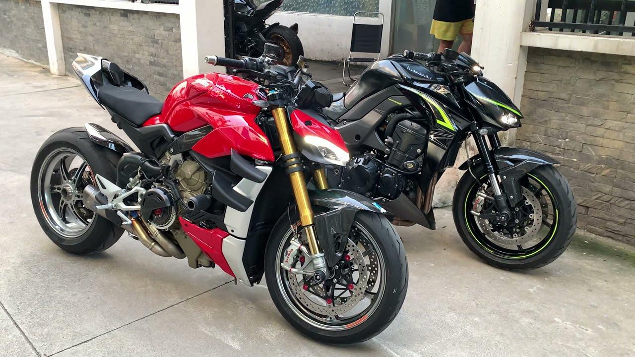 Ducati Streetfighter V4S có copy ý tưởng của Kawasaki Z1000??? Bàn Luận | Leeagle | Motor Dạo