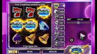 """Jeu à gratter """"Double Play Super Bet"""" Et hop, un bon gain avec le Bonus"""