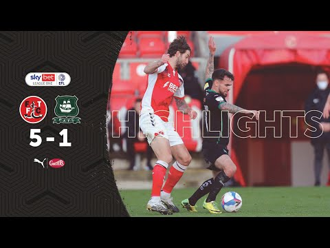 Fleetwood Town Plymouth Goals And Highlights