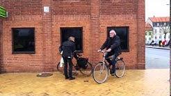 Den här mannen cyklar gratis