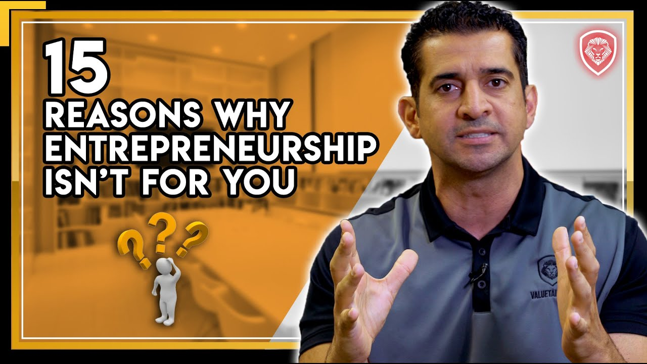 15 Reasons Entrepreneurship Isn't For You