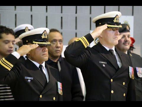 Changement de commandant au NCSM Donnacona