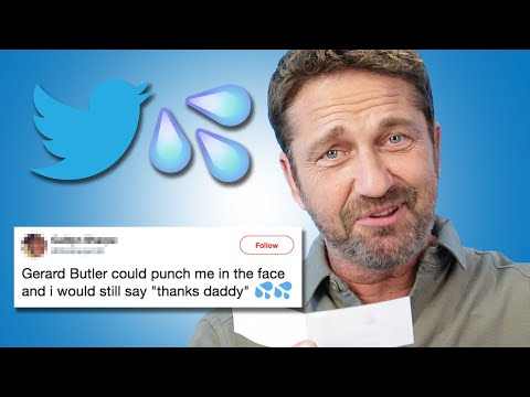 Gerard Butler Reads Thirst Tweets
