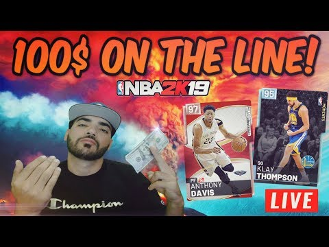 100$ UP FOR GRABS! Playing YOUTUBERS and SUBSCRIBERS in Nba 2k19 MYTEAM! LET THE Cheese BEGIN!