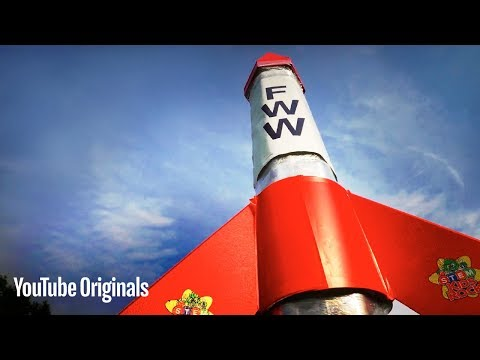 Water Rocket GUINNESS WORLD RECORDS Record Breaker - Furze World Wonders (Ep 3)