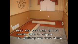 Denver/Boulder Colorado Shows You: How To Remove Carpet