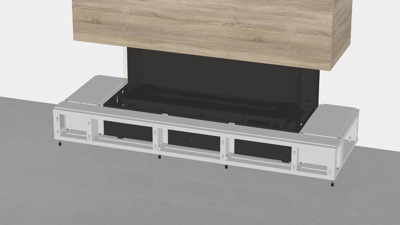 Regency City Series - #4, CB40 Extended Hearth Steel Framing Kit ...