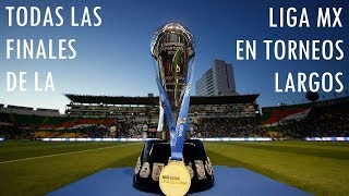 Todas las Finales de la Liga MX (1971-1996) en Torneos Largos
