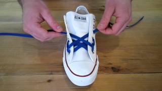 How to Spider Web Lace Chuck Taylors
