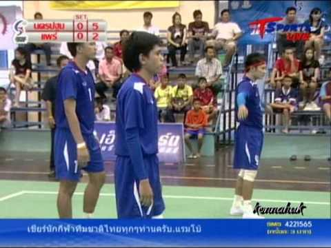 2011 Sepak Takraw Thailand League ''Nakhon Pathom Vs Phrae 1 of 6