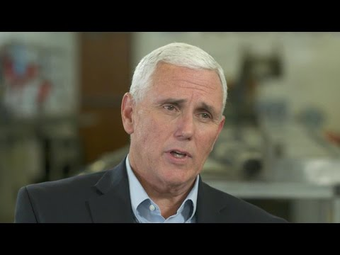 Interview with vice presidental candidate Mike Pence