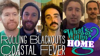 Rolling Blackouts Coastal Fever - What's In My Bag? [Home Edition]