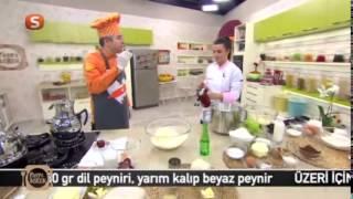 Gülenay ile Pasta Börek   Peynirli Dizme Börek Tarifi