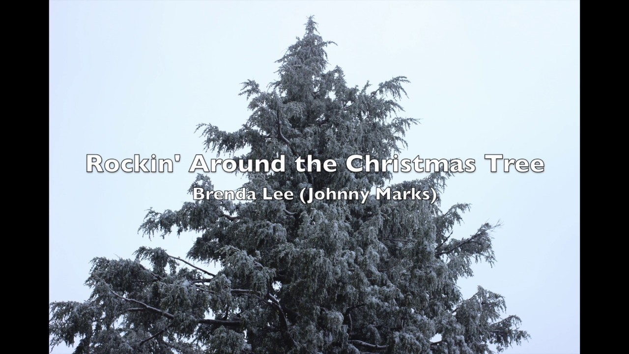 Rockin' Around the Christmas Tree - Brenda Lee (Johnny Marks) - YouTube
