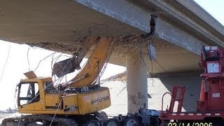 heavy equipment accidents caught on tape, excavator fail and crash, dump truck gone wild,
