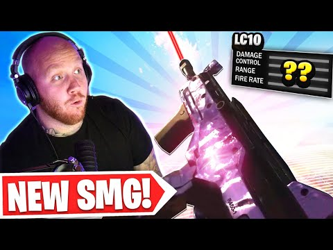 TRYING THE *NEW* LC10 SMG IN WARZONE! - TimTheTatman