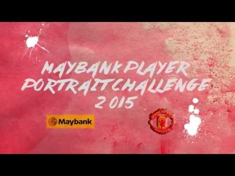 Maybank Player Portrait Challenge 2015