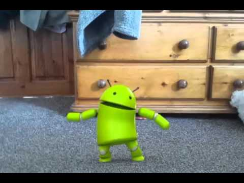 Android robot dance