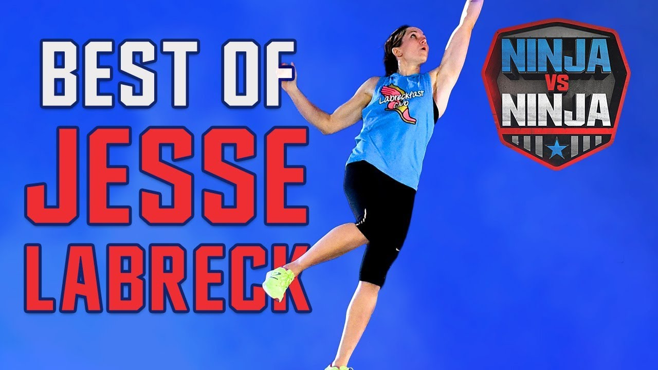 Ninja Vs. Ninja Runs: Best Of Jesse Labreck | American Ninja Warrior: Ninja Vs. Ninja