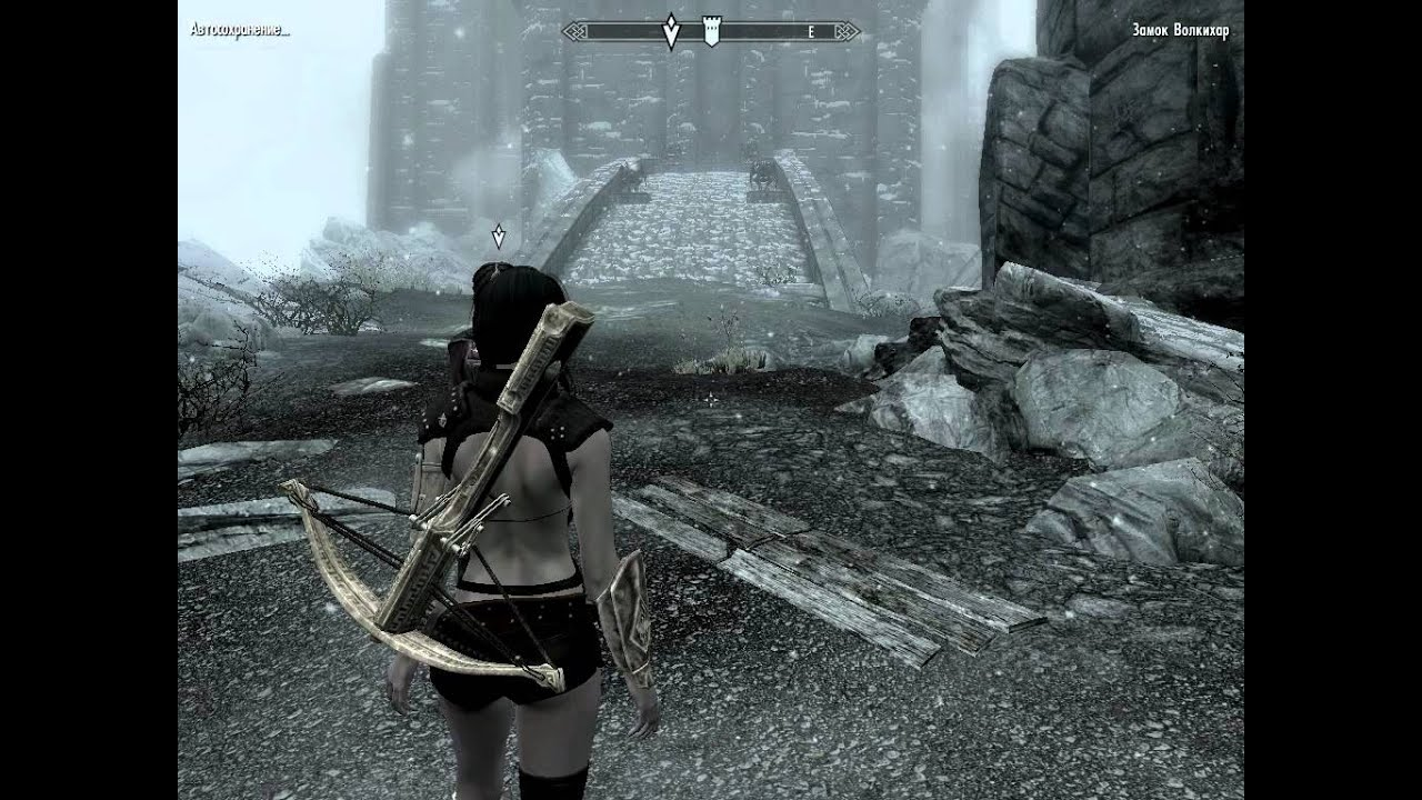скачать мод на скайрим на замок волкихар - фото 3