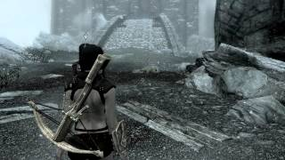 Skyrim Dawnguard Замок Волкихар #10