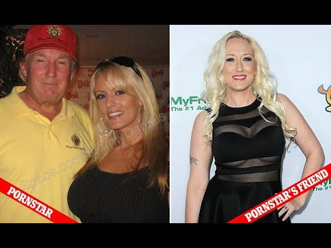 Woman says Trump and porn star invited her to room