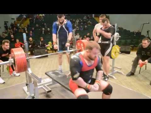 Дмитрий Шашков-330 кг ЧБО 2019 Год.