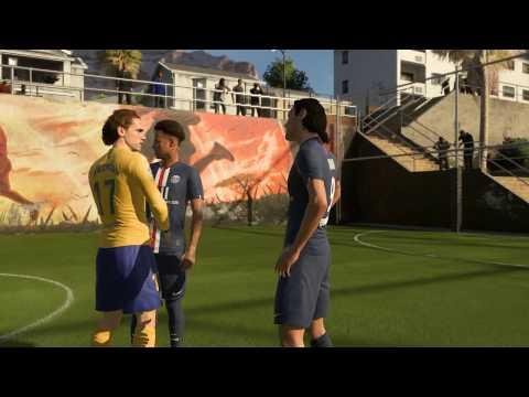 Mbape/Neymar/Cavani vs Messi/Suarez/Griezmann | FIFA 20 Volta Gameplay