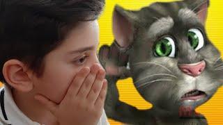 Kedi tom efe ile konuşuyor!!😱😱