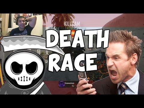 DEATH RACE (NEW TRACK): WTF  (CoD Custom Game)