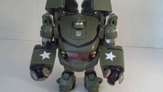 Transformers Animated Voyager Bulkhead Review
