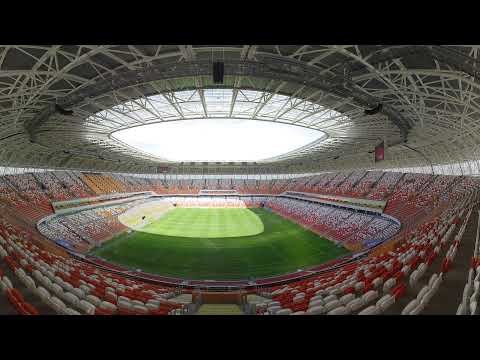 Sneak 360 peak of Mordovia Arena before World Cup 2018