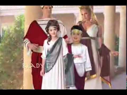 Ancient Roman Costume Ideas For The Family Youtube
