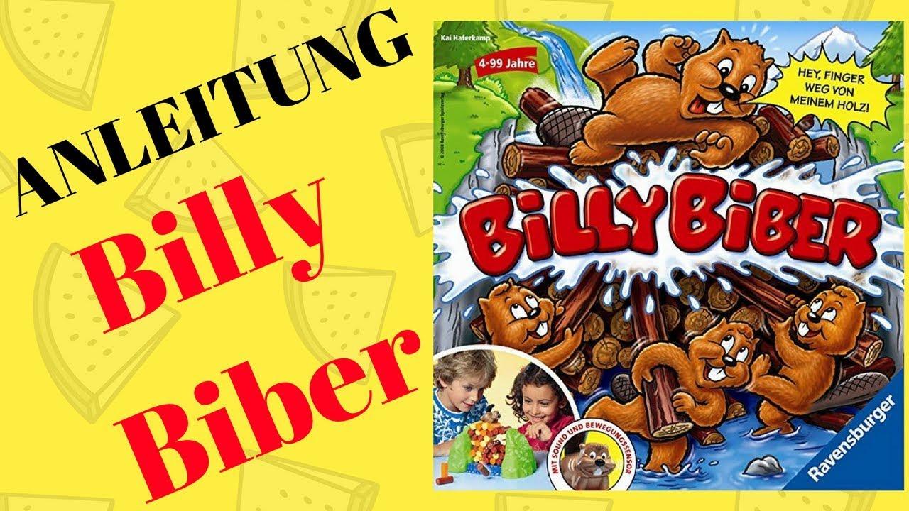 Spielanleitung Billy Biber
