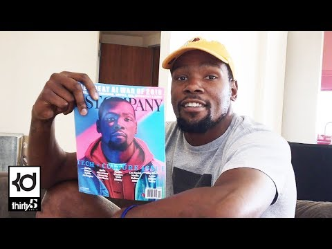 Download Youtube: KD Fan Q&A and Fast Company Cover