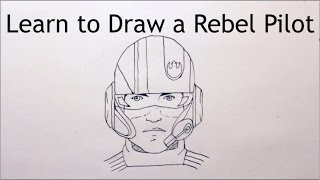 How to Draw a Rebel Pilot - Star Wars Episode VII
