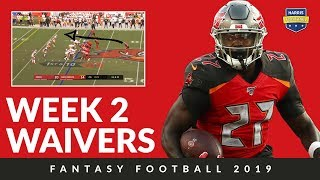 Week 2 Waiver Wire - Improve your fantasy football 2019 squad
