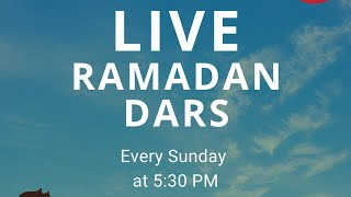 Dars: Importance of Fasting (Apr 26, 2020)