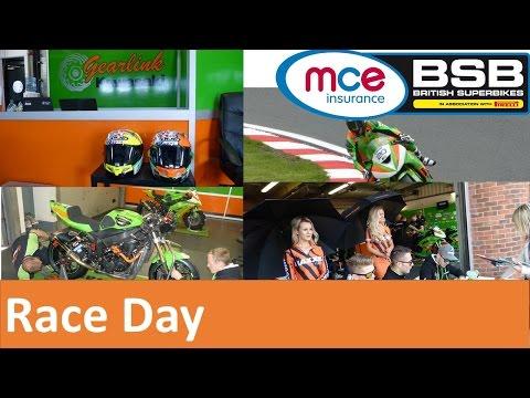 British Superbikes [ Race Day] - Gearlink Kawasaki's