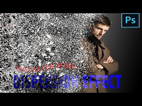 Photoshop tutorial: Dispersion effect :dispersion effect in photoshop #photoshop #dispersion thumbnail