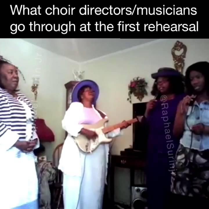 maxresdefault what choir directors and musicians go through at the first choir