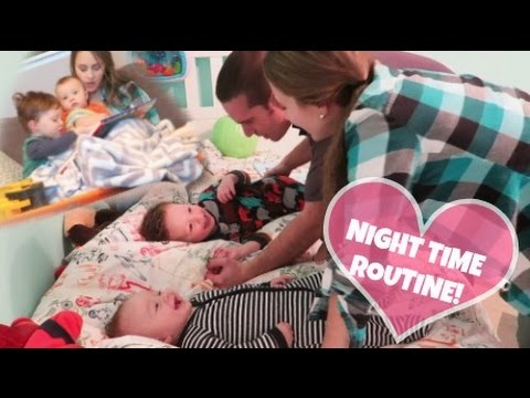 NIGHT TIME ROUTINE! MOM OF TWO! - YouTube